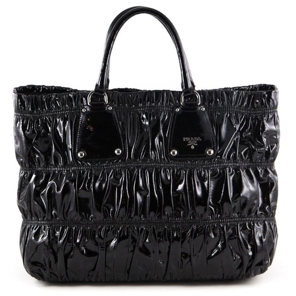ffe6759a3d73 Prada Bags   Gaufre Patent Leather Tote W Dust Bag   Poshmark